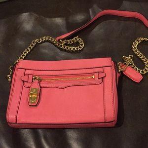 Rebecca Minkoff Cross Body Bag in Hot Pink